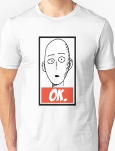 Ok. Obey Style - One Punch Man T-Shirt