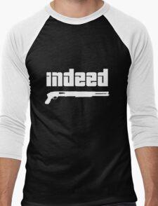 Omar. Indeed. Men's Baseball ¾ T-Shirt