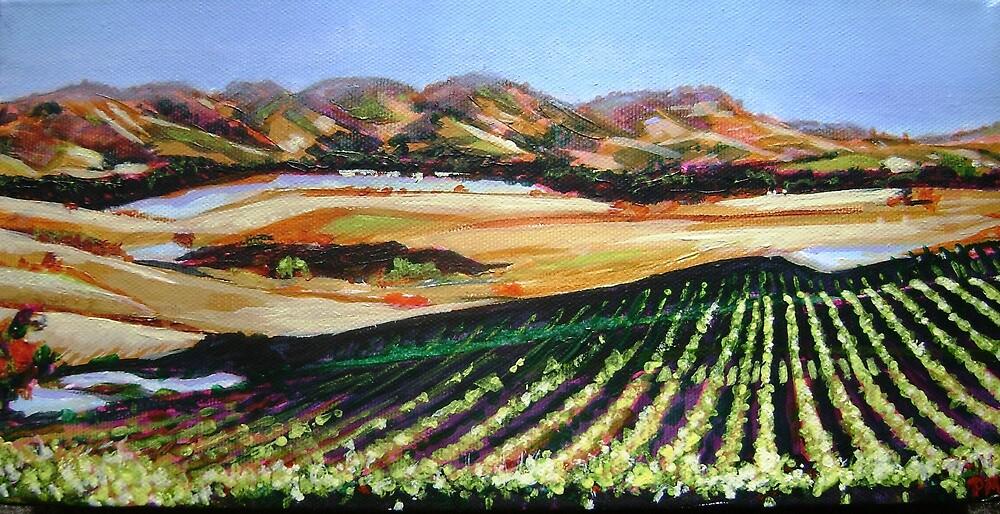 The Vineyard by Pauline Marlo-Monten