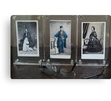19th Century Cartes de Visite Canvas Print