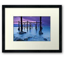 Sunset at Ippikos Omilos Framed Print