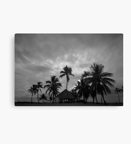 Chapel amongst the palm trees Canvas Print