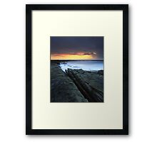 """Written in Waters"" ∞ Caloundra, QLD - Australia Framed Print"