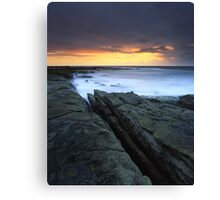 """Written in Waters"" ∞ Caloundra, QLD - Australia Canvas Print"