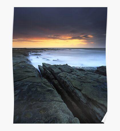 """Written in Waters"" ∞ Caloundra, QLD - Australia Poster"