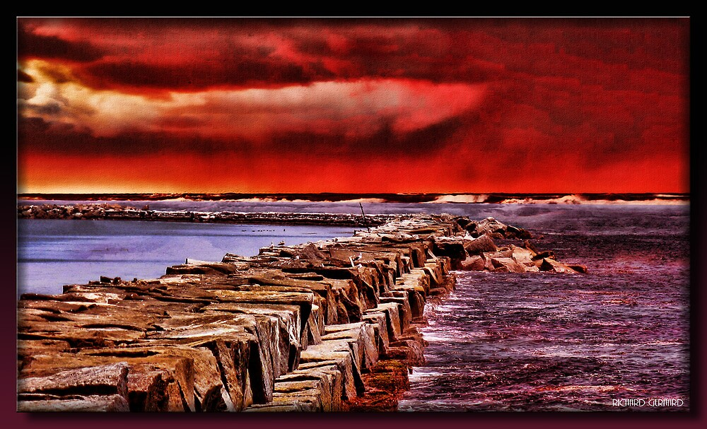 The Jetty by Richard  Gerhard