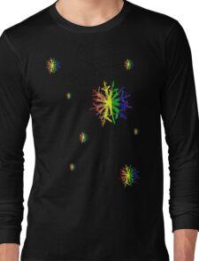 LGBT Snow Flakes Long Sleeve T-Shirt