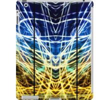 Light Painting Abstract Triptych #1 iPad Case/Skin