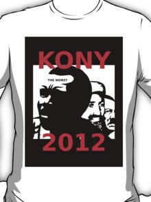 KONY 2012 Stop the Madness T-Shirt