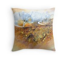 Beneath Darebin Throw Pillow