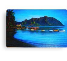Morning Stillness, Kaneohe Bay Canvas Print