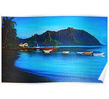 Morning Stillness, Kaneohe Bay Poster