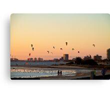 Beach Sunset - Part 5 Canvas Print