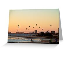Beach Sunset - Part 5 Greeting Card