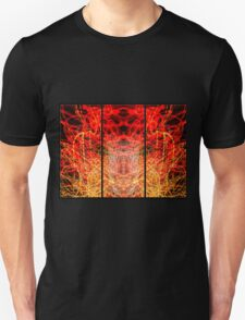 Light Painting Abstract Triptych #3 T-Shirt