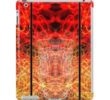 Light Painting Abstract Triptych #3 iPad Case/Skin