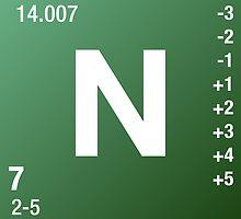 Element Nitrogen by Defstar