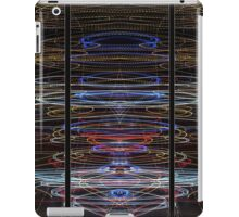 Light Painting Abstract Triptych #4 iPad Case/Skin
