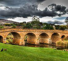 Richmond Bridge - Tasmania - HDR by Chris Sanchez