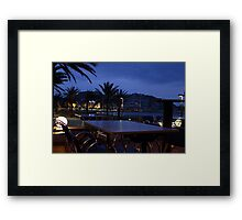 Time for a drink ? Framed Print