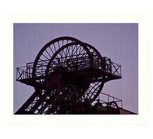 Mining Works Art Print