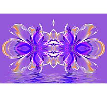 Crystal Reflections Photographic Print