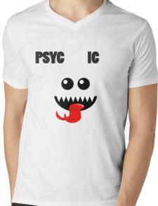 IT'S OK TO BE HOT (PSYCHOTIC) Mens V-Neck T-Shirt