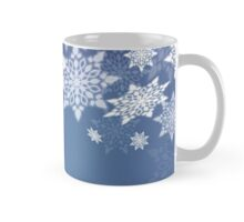 Snowflakes; New Year; Christmas; winter. Mug