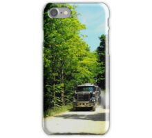 Here comes the milk truck..I need some milk for my cereal..ha ha. iPhone Case/Skin