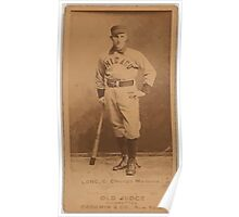 Benjamin K Edwards Collection Germany Long Chicago Maroons baseball card portrait Poster