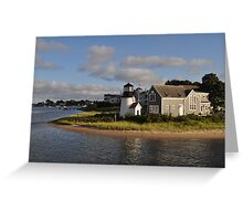 Lighthouse at Cape Cod Greeting Card