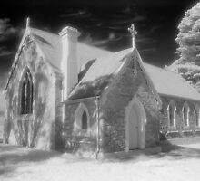 St Thomas, Moonbah infrared by Syd Winer
