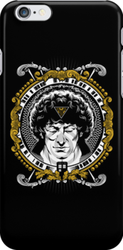 4th Doctor iPHONE CASE by zerobriant