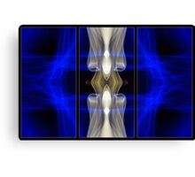 Light Painting Abstract Triptych #7 Canvas Print