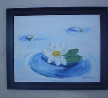 Water Lillies by harold  messler