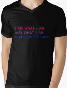 Pride - Bi I Am What I Am Mens V-Neck T-Shirt