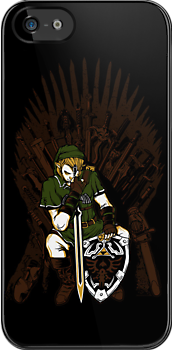 Throne of Games iPhone Case by zerobriant