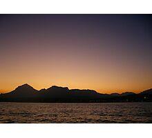 Calpe Sunset Photographic Print