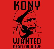 KONY, Wanted Dead or Alive T-Shirt