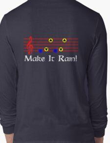 Make It Rain - Song Of Storms Long Sleeve T-Shirt