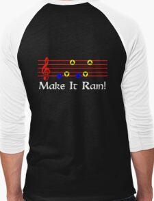 Make It Rain - Song Of Storms Men's Baseball ¾ T-Shirt