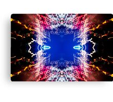 Into the Void UFA Neon Abstract #1 Canvas Print