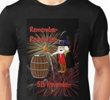 Remember, Remember 5th November, Guy Fawkes Night Unisex T-Shirt