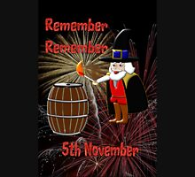 Remember, Remember 5th November, Guy Fawkes Night T-Shirt