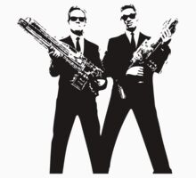 Men in Black by tombst0ne