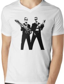 Men in Black Mens V-Neck T-Shirt