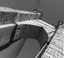 Brooklyn Bridge NYC by Fern Blacker