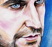 Richard Armitage, blue eyes by jos2507