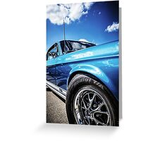Ford Mustung Details #1 Greeting Card