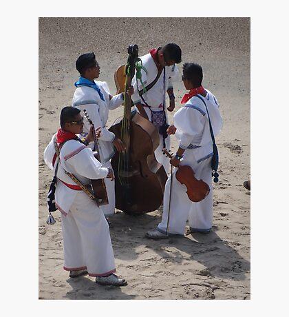 Huichol Music Band - Banda Musical De Huichol Photographic Print